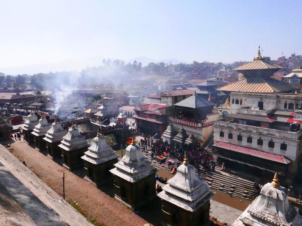 Pashupatinath Temple, cremation ceremony, hindu, pyres