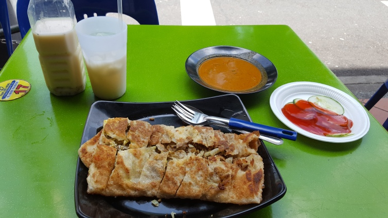Murtabak, Singapore, Haji Lane, Muslim food, Indian food, Zam Zam