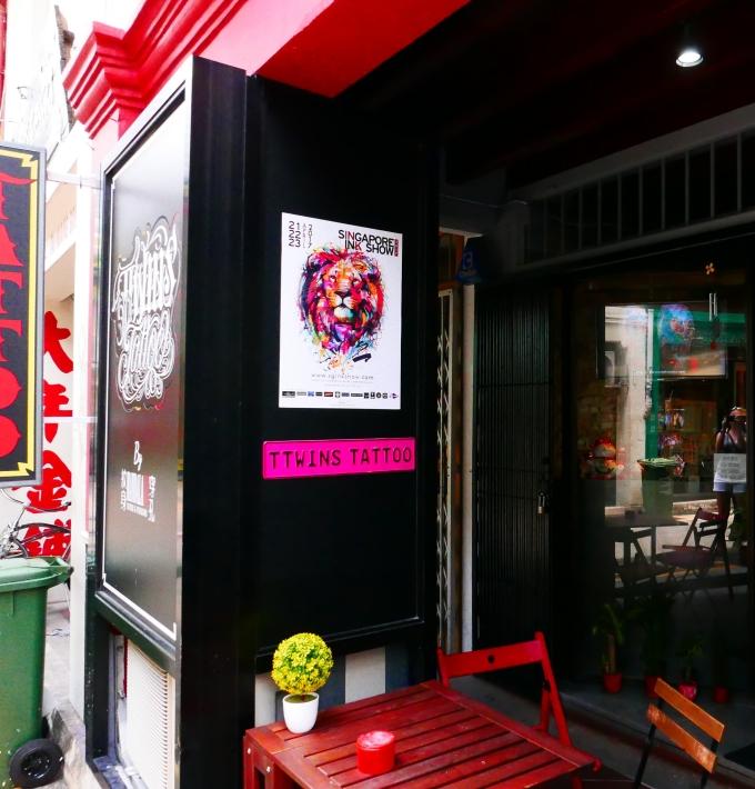Art, Shopping, Haji Lane, Singapore, Tattoo