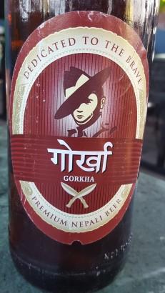 Gorkha beer, Nepal, Kathmandu, Thamel