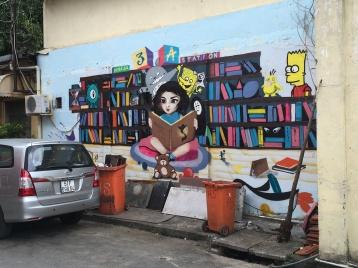 Vietnam, Ho Chi Minh City, Saigon, street art