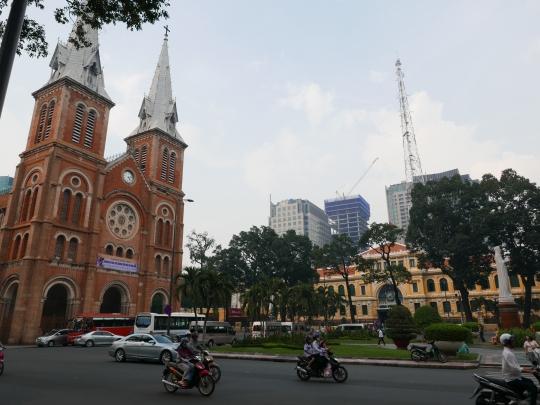 Vietnam, Ho Chi Minh City, Saigon, Saigon Notre-Dame Basilica