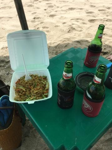 Bali, Beaches, Legian, food