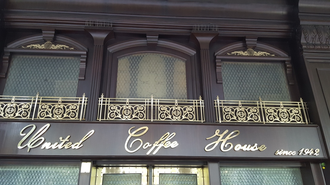 United Coffee House, New Delhi, India, Connaught Place, Food, Drinks
