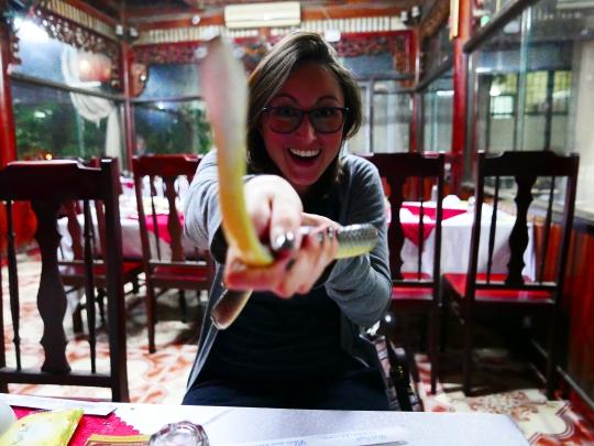 Hanoi, Vietnam, Hung Snake, King Cobra, Food
