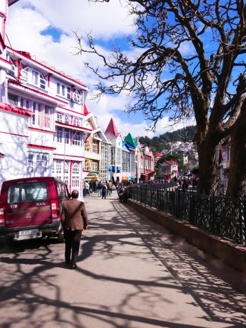 Shimla, India, The Ridge, The Mall