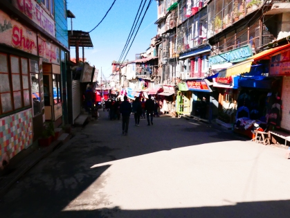 Shimla, India, Lower Bazaar, Market