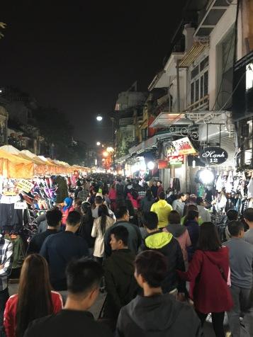 Hanoi, Vietnam, New Year's Eve