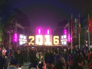 Hanoi, Vietnam, New Year's Eve