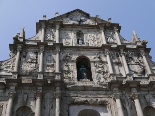 Ruins of St. Paul's, Macau, China, Portugal