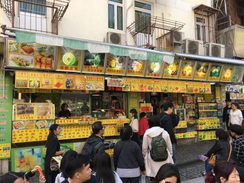 Macau, China, Street Food
