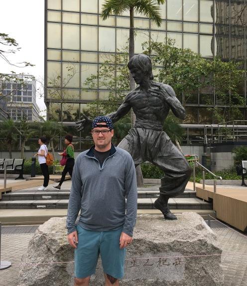 Hong Kong, Avenue of the Stars, Bruce Lee