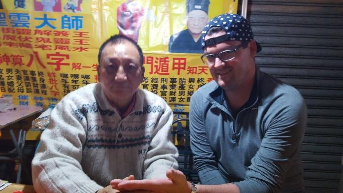 Hong Kong, Temple Street, Night Market, Asia, Palm Reader